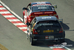 Luke Hines leads Tom Chilton