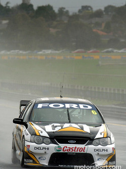 Craig Lowndes during qualifying