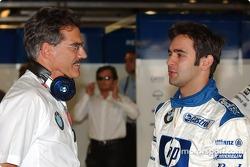 Dr Mario Theissen and Antonio Pizzonia