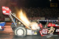 Brandon Bernstein took the pole in top fuel