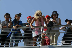 Fans before qualifying session