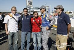 Manuel Reuter on the starting grid