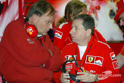 Kees van der Grint and Jean Todt