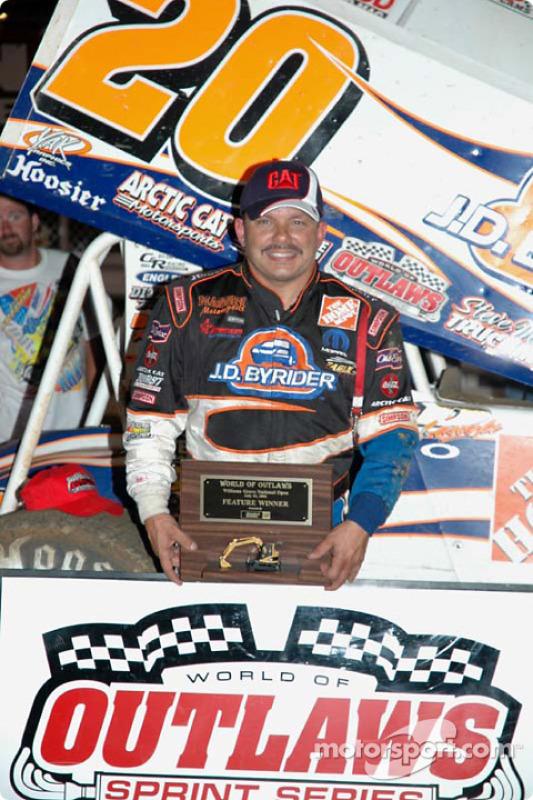 Le vainqueur Danny Lasoski