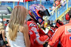 Casey Stoner, Ducati Marlboro Team avec sa charmante femme Adriana