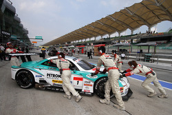 #1 Petronas Tom's SC430: Juichi Wakisaka Andre Lotterer van Lexus Team Petronas Tom's