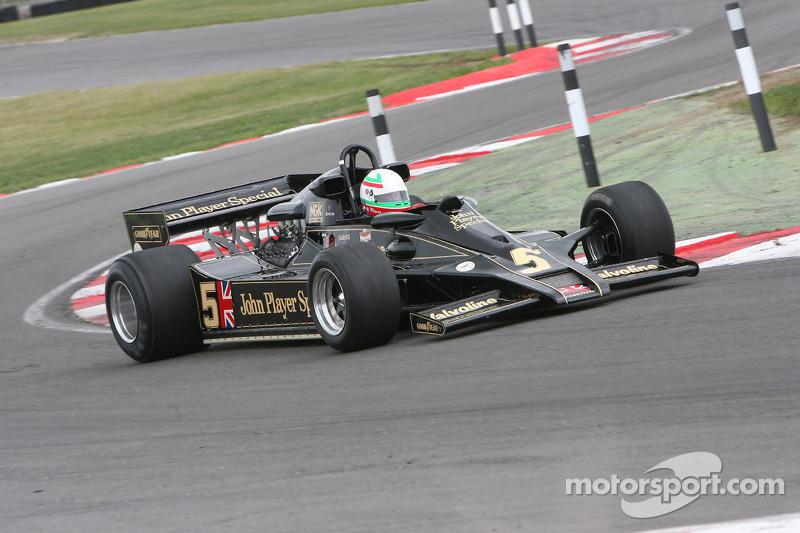 Classic F1 Lotus demonstraties