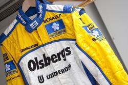 Marcus Ericsson race suit