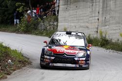 Sébastien Ogier en Julien Ingrassia, Citroën C4 WRC, Citroën Junior Team