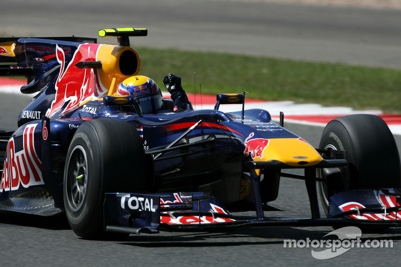 2010. Переможець: Марк Веббер, Red Bull Racing