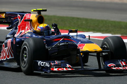 Vainqueur Mark Webber, Red Bull Racing