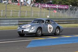 #58 Alfa Romeo Giulietta SZT 1962: Pascal Perrier, Benjamin De Fortis, Vincent Lasser