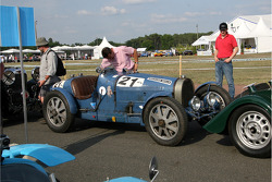 #21 Bugatti 51 1932: François Cointreau, Frédéric Novo