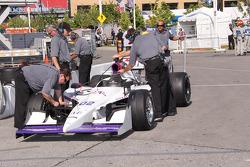 Newman/Haas Racing team members at work