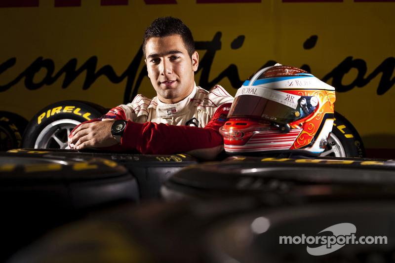 Daniel Morad winnaar van race 8 in de GP3 series op Silverstone