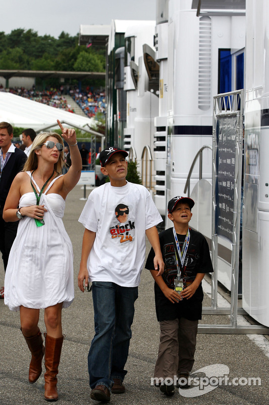 Isabell Reis, girlfriend of Timo Glock