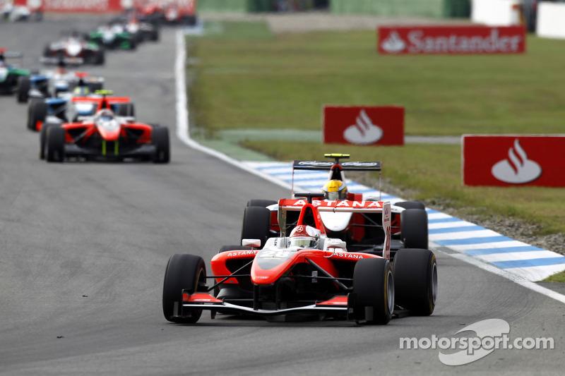 Daniel Juncadella rijdt voor Esteban Gutierrez en Stefano Coletti
