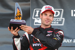Podium: second place Will Power, Team Penske