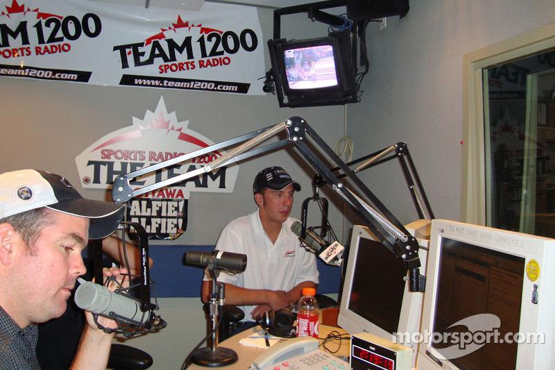 NASCAR-coureurs Ottawa media tour