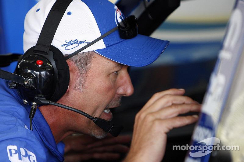 Steve Addington, chef d'équipe de Kurt Busch