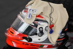 The helmet of Nicola de Marco