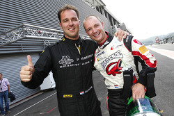 Pole winners Jos Menten and Xavier Maassen