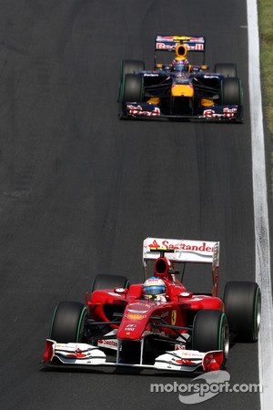 Webber was fastest in P1, Alonso fastest in P2 today