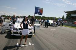 Andy Priaulx BMW Team RBM BMW 320si and Augusto Farfus BMW Team RBM BMW 320si