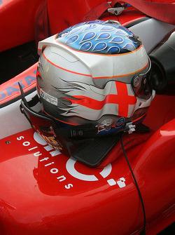 Helmet of Daniel McKenzie