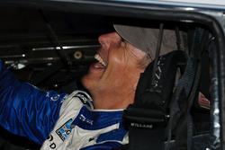 Victory lane: race winner Scott Pruett