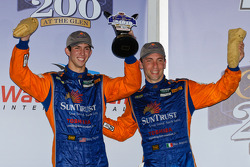 DP podium: second place Max Angelelli and Ricky Taylor