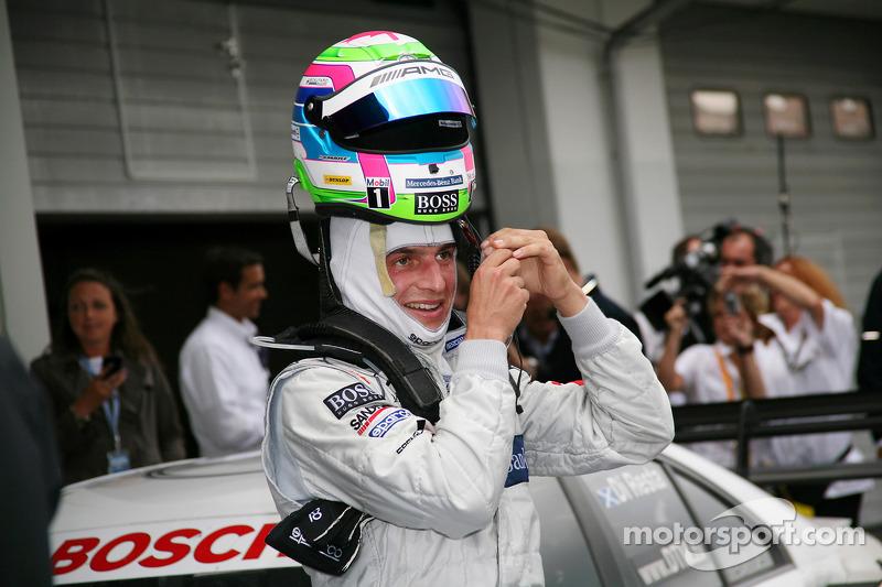 Race winnaar Bruno Spengler, Team HWA AMG Mercedes C-Klasse