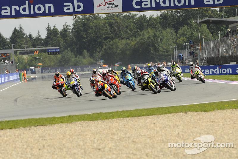 Départ : Dani Pedrosa, Repsol Honda Team prend la tête