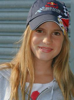 Jean-Eric Vergne's sister