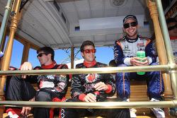 J.R. Hildebrand, Dreyer & Reinbold Racing, Marco Andretti, Andretti Autosport, Ernesto Viso, KV Racing Technology