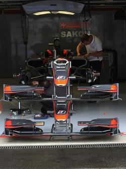 Hispania Racing F1 Team atmosphere