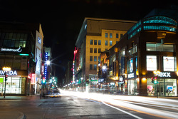 Ste. Catherine Street by night