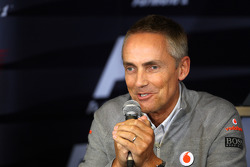 Vrijdag persconferentie: Martin Whitmarsh, McLaren, Chief Executive Officer