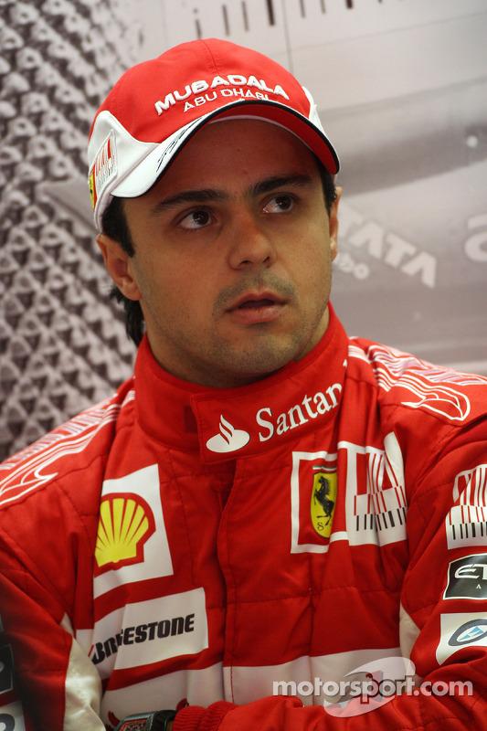 Felipe Massa, Scuderia Ferrari at Belgian GP Felipe Massa