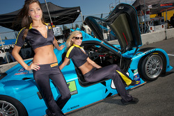 The charming Pirelli girls