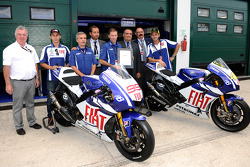 ISO 14001 certificate presentation: Jorge Lorenzo, Fiat Yamaha Team and Valentino Rossi, Fiat Yamaha Team