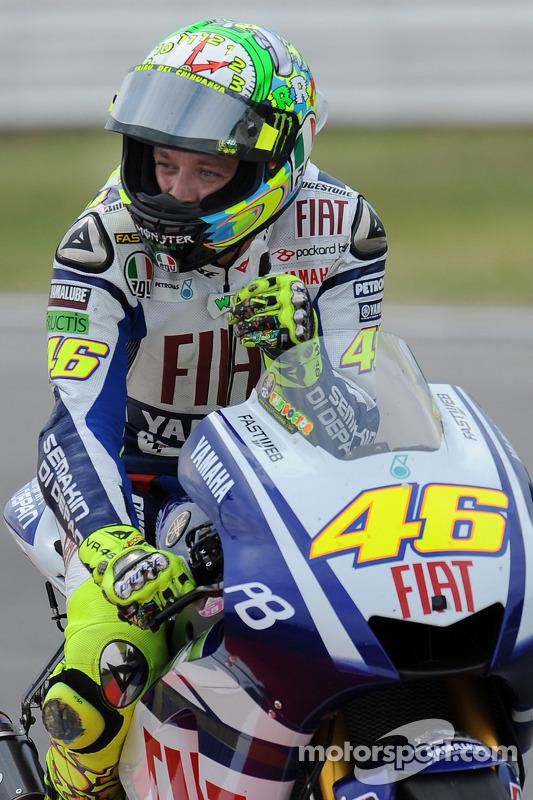 Valentino Rossi, Fiat Yamaha Team 3de