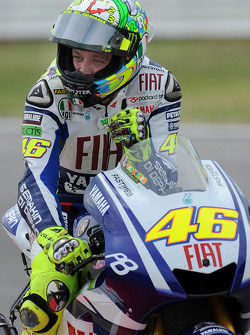 Valentino Rossi, Fiat Yamaha Team finishes third