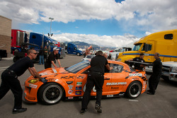 SpeedSource Mazda RX-8 at technical inspection