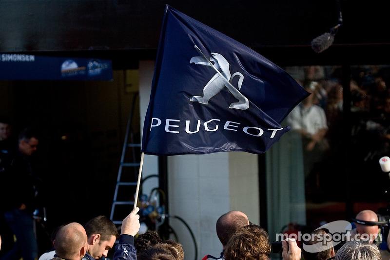Peugeot flag