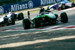 Robert Wickens leads Mirko Bortolotti and Nico Muller