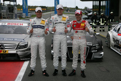 Qualifications : 2e Bruno Spengler, Team HWA AMG Mercedes C-Klasse, 1er Paul di Resta, Team HWA AMG Mercedes C-Klasse, 3e Mike Rockenfeller, Audi Sport Team Phoenix Audi A4 DTM