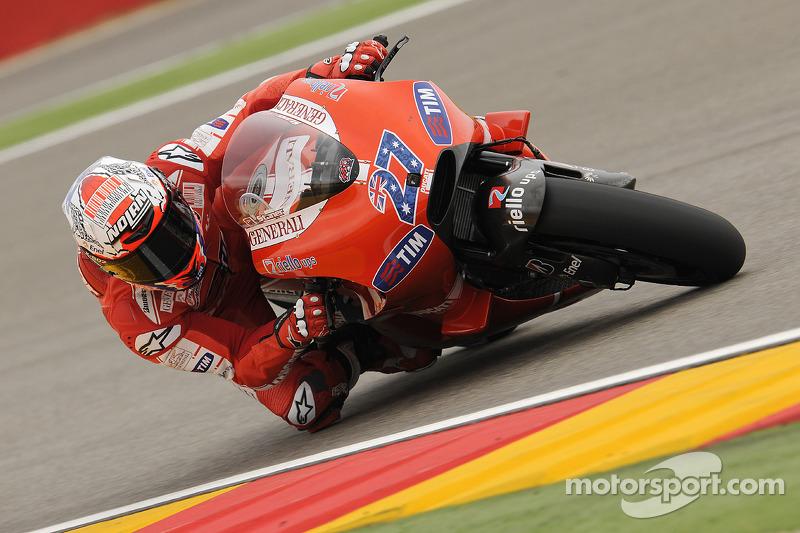 2010: Casey Stoner (Ducati Desmosedici GP10)