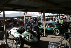 the crowded garages