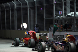 Fernando Alonso, Scuderia Ferrari stopt op het circuit